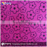 100% Polyester Aloba Fabric / Flower Printed Aloba /Brushed Aloba For Home Textiles/Shoes/Toys