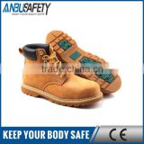 slip resistant plastic toe cap goodyear welted safety shoes