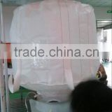 FIBC bagPP Jumbo bag,FIBC bag,Ton bag/White ton bag packing stone, rice manufacturer china