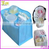 Portable Baby Nappy Bags 7 Liners Travel Diaper Nappy Organizer Bag Stuffs Insert Storage Handbag