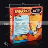 Dental Cheek Lip Retractors for Speak Out Board Game C-SHAPE Mouth Opener for Adults and Kids / FDA CE Aproved