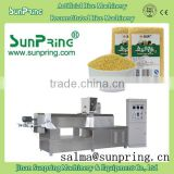 twin screw extruder reconstituted rice artificial rice processing line nutritional rice fortified rice machine