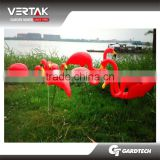 Garden decoration 2pcs flamingo Plastic bird decoy for hunting