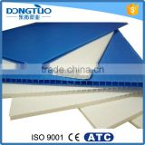 Corrugated pp plastic sheet for packaging, wholesale pp plate sheet