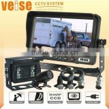 IP69K camera Vehicle Rear Vision Systems with spiral warterproof cable for horse trailer