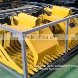 attachment for skid steer loader rock grapple