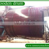 350*300cm Hath pace leather wooden drum for dealing pig, sheep and goat skin