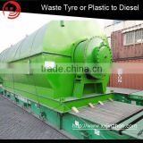 Tire Recycling Machine Tire Machine Type and ISO&CE Certification used oil refinery equipment