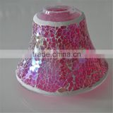 small glass oil lamp for candle mosaic table lamp