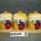 ceramic jar set