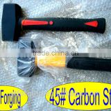 9KG Germany Type Stoning Hammer Fibreglass Handle Export China Hammer Factory