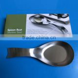 stainless steel spoon rest,spoon holder