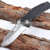 OEM Large survival camping hunting knife outdoor folding with gift box