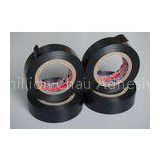 Black Water Resistant PVC Electrical Tape For Cable Harnessing