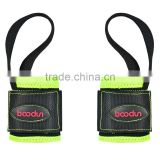 black nylon protection sports wrist band/ bt hot sell 3 color weight lift protection wrist belt