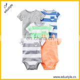 Bulk Organic Cotton Blank Knitted Baby Vintage Romper