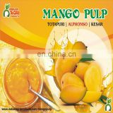 Sweetened and Tasty Alphonso Mango Pulp