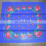 2016 fashion best seller printed acrylic scarf for ladies