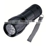 9 LED Flashlight with different body color