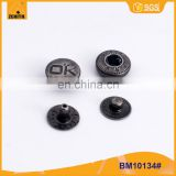 Logo Customized Spring Snap Fasteners for Clothes BM10134