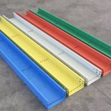 high strengh color steel cable tray