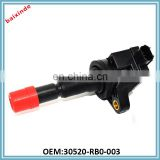 BAIXINE New OE-Quality Ignition Coil OEM 30520-RB0-003