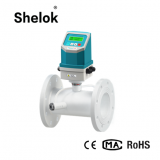 Intergrated ultrasonic river sewege flow meter