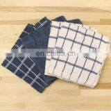 cotton strip yarn dyed disposable dish cloth / disposable kitchen towel
