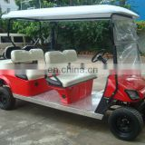 Cheap 6 passager golf cart with high quality golf cart transmission, powerful motor, affordable price