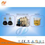 DOING waste fuel oil to diesel refining machine for sale