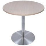 Quality Modern Round Restaurant Table with melamine table top