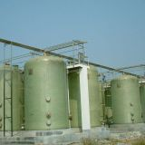 Fiberglass Chemical Storage Tanks Factory Supply Sewage Treatment Water Treatment Plant
