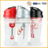 Plastic Bottle Factory Drink Custom Logo Promotional 700ML Shaker Cup