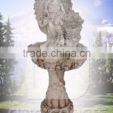 Resin angel garden figurine fountain