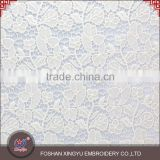 Hot selling personalize stylish bridal lace wedding types of net fabric wholesale can be made into dress