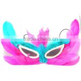 High quality party mask masquerade Butterfly feather masks