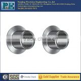 high quality precision machining car parts stainless steel flange guide bushing