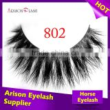 High quality Koren eyelash with private label packaging false eyelashes wholesale horse fur lash