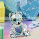 Wedding gifts and souvenir items for birthday choice Crystal Collection Teddy Bear Favors figurines