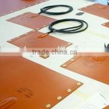 Silicone Heater Pad with 12/24/110/120/208/220/230/240V Voltage and Rubber Heating Element