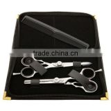Hairdressing Razor Edge Scissors,Barber Hair Thinning Scissors+PRESENTATION CASE/ Beauty instruments manicure and pedicure