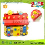 Children Pretend Play Little Builder's Wooden Tool Set to building a house                                                                         Quality Choice