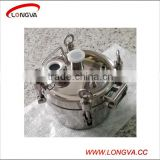 sanitary stainless steel round pressure manhole cover with pipe fittings                                                                         Quality Choice