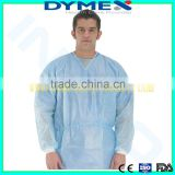 High Quality SMS Cheap Medical Disposable Nonwoven Medical Surgical Gown