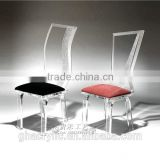 Inquiry about modern transparent clear acrylic chair in dining room for home