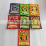 Scooby snax green apple 10g /Scooby snax hydro 4g/herbal incense packaging for herbal incense