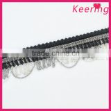 New arrival garment accessories metal fringe trim