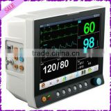 JPD-800B CE marked Multiparameter patient monitor 15 inch bed ,surgical ,Cardio monitor for sales