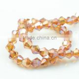 polished rhinestones beads,supplies glass jewelry beads,amber bicone beads