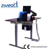 ergonomic electric sit standing office height adjustable desk